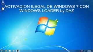 Windows Loader By Daz