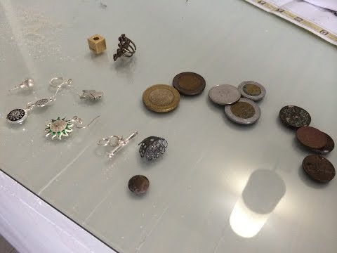 Metal Detecting Cancun Mexico Silver