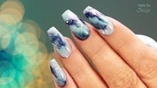 CJP Acrylic Marbled Nails