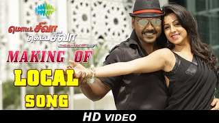 Making of Local Song | Motta Shiva Ketta Shiva | Raghava Lawrence