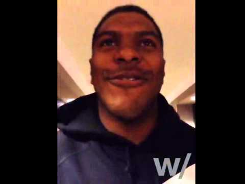 Denver Broncos Julius Thomas Live on Hang w/