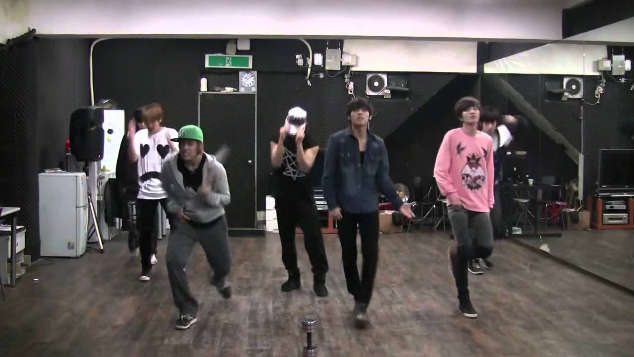 Paradise mirrored dance practice - Infinite