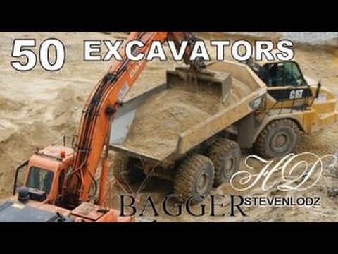 50 - Máy xúc - Bộ sạc - Xe ủi đất - Xe tải - Big xây dựng