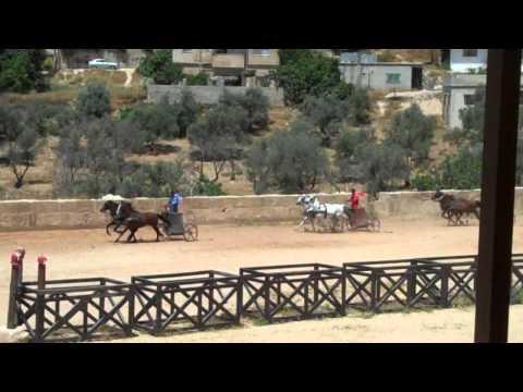 Roman Chariot Races Jerash Jordan.MP4