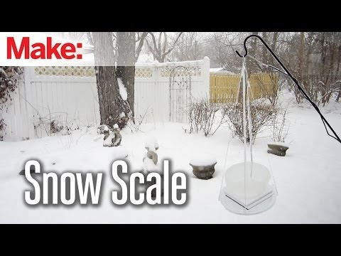 DIY Hacks & How To's: Snow Monitoring Scale