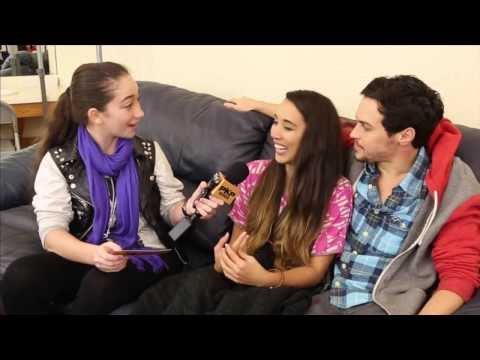 ALEX and SIERRA interview w/ Pavlina 2014 The X FACTOR WINNERS