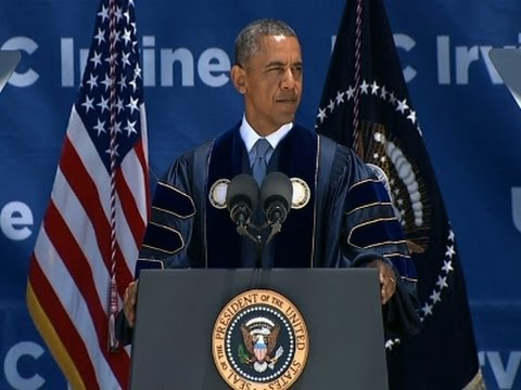 Obama Talks Climate Change at UC Commencement