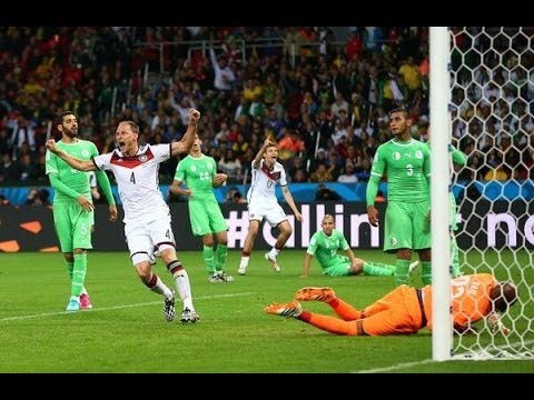 Germany vs. Algeria (1-0) World Cup 2014 Full Match Goals & Highlights 30/06/14 [Extra Time]
