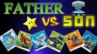 Skylanders Swap Force Ring Out (Father Vs Son SUCKA-B