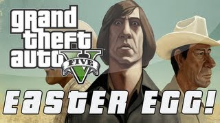 Grand Theft Auto 5 No Country For Old Men Easter Egg (GTA V)