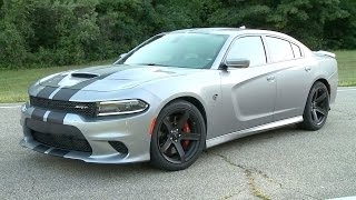 2017 Dodge Charger SRT HELLCAT 707 HP. YouCar Car Reviews.