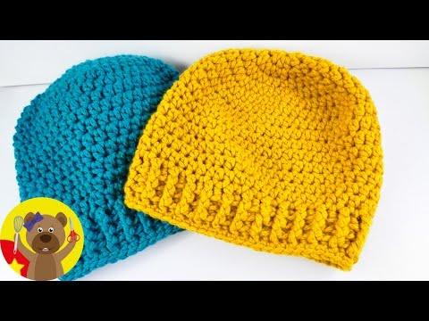 Đan mũ len đơn giản cho ngày đông ấm áp