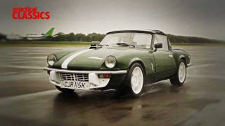 Practical Classics Magazine:  Triumph Spitfire group test