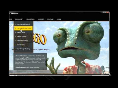 Pixologic ZBrush Feature video - Siggraph 2011