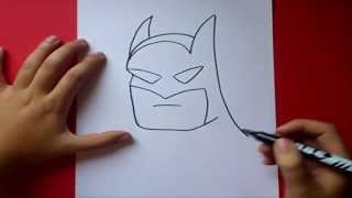 Como Dibujar A Batman Paso A Paso How To Draw Batman