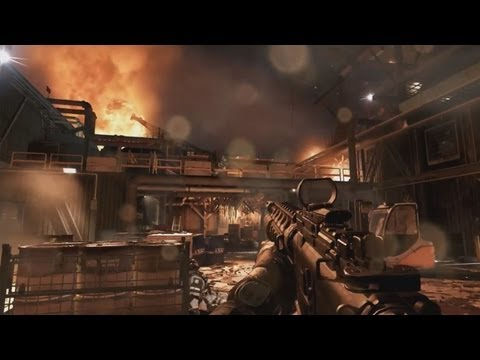 Call of Duty: GHOSTS Gameplay Commentary (Black Ops 2 FFA)