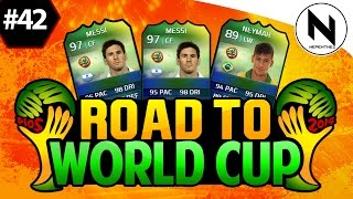 OP FORMATION CHANGE!! FIFA 14 Ultimate Team - Road to World Cup #42