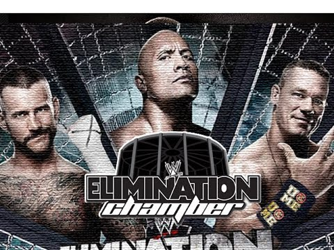 WWE ELIMINATION CHAMBER PPV - Universe Mode - Episode 45 (Raw & Smackdown) (HD) (Gameplay)