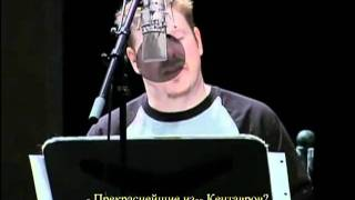 Futurama Voice Actors in the Studio