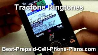 Downloading Tracfone Ringtones