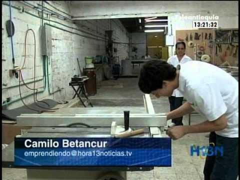 Biópanel:fabrica muebles, cocinas, techos y hasta pisos para el Metro de Medellín