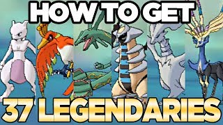 How to Get 37 Legendary Pokemon from Wormholes in Pokemon Ultra Sun and Moon   Austin John Plays