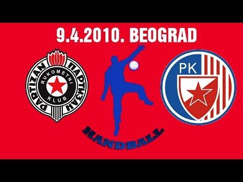 RK Partizan – RK Crvena Zvezda (09.04.2010.)