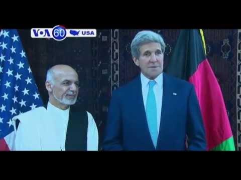 U.S. Secretary of State John Kerry in Afghanistan: VOA60 America 07 11 14