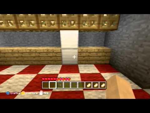 minecraft how to make a fridge