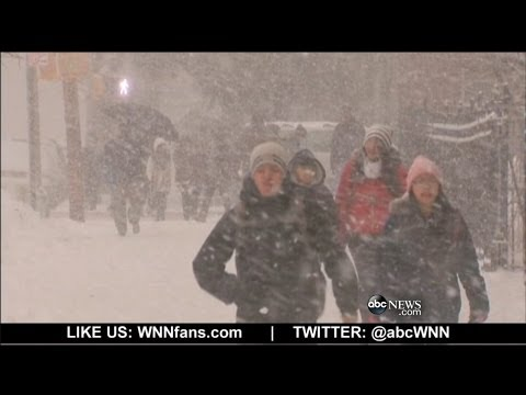 Historic Winter Storm Slams East Coast
