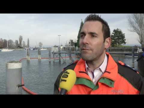 Dieselöl im Hafen von Romanshorn ausgelaufen (TELE TOP)