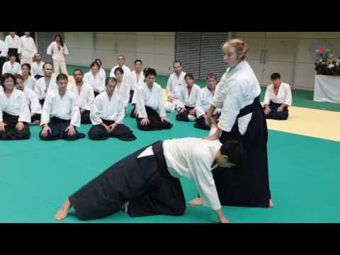 12th International Aikido Federation Congress - Class Highlights: Janet Clift