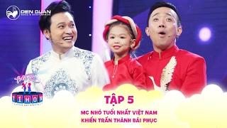 Biệt tài tí hon | tập 5: MC nhỏ tuổi nhất Việt Nam khiến Trấn Thành cũng phải  bái phục