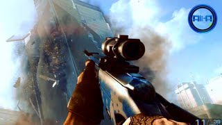 BF4 Multiplayer SNIPING Gameplay & CAMOS! New