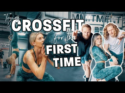 I TRIED CROSSFIT FOR THE FIRST TIME