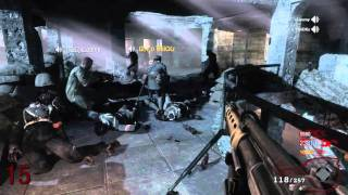 Black Ops: ZOMBIES Tri Live Commentary on Nacht Der Untoten