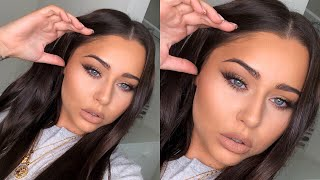 FULL GLAM MATTE DRUGSTORE MAKEUP TUTORIAL