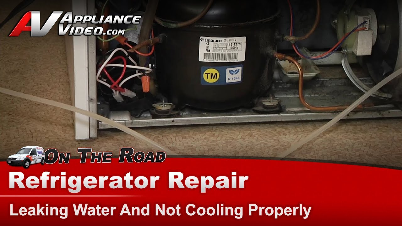 Maytag Refrigerator Repair Leaking Water And Not Cooling