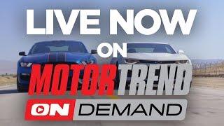 TEASER: 2017 Chevrolet Camaro ZL1 vs. 2017 Ford Shelby Mustang GT350R - Head 2 Head Ep. 90. MotorTrend.