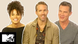 Deadpool 2 Cast On Funniest Moments, Deaths & Post-Credits Scenes | MTV Movies