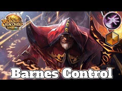 Gameplay Barnes Control Warlock Kobolds And Catacombs | Hearthstone Guide How To Play