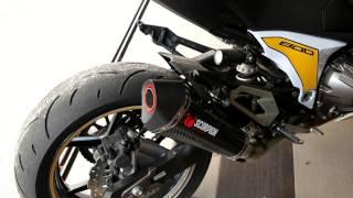 Kawasaki Z800 With Scorpion Exhaust