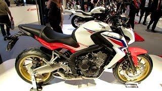 2014 Honda CB650F Walkaround 2013 EICMA Milan Motorcycle