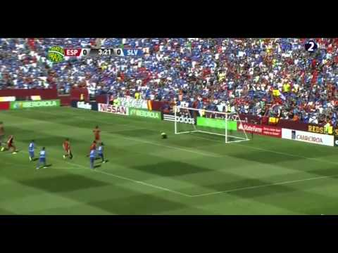 Cesc Fabregas Incredible Penalty Miss vs El Salvador HD ~ Spain - Salvador Friendly 08 06 2014.mp4