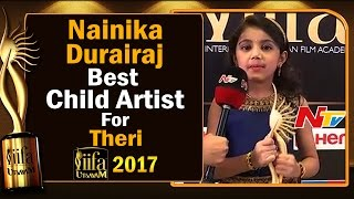 IIFA Utsavam: Actress Meena's daughter Nainika wins Best C..