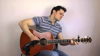 Let It Go (Frozen) Acoustic Fingerstyle Interpretation