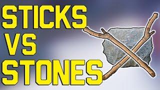 Konáre vs kamene