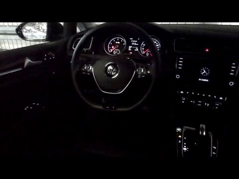 2012 vw golf 7 1 4 tsi bluemotion highline ambiente beleuchtung 8 13 youtube. Black Bedroom Furniture Sets. Home Design Ideas