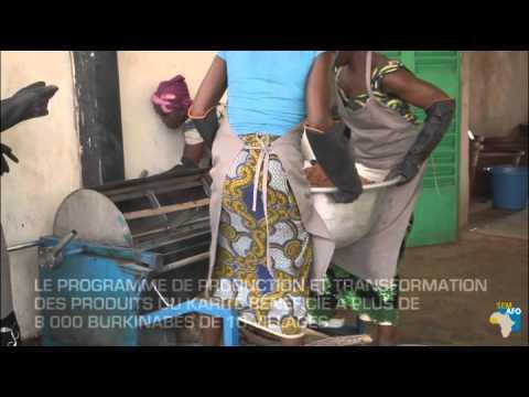 Le beurre de karité au Burkina Faso
