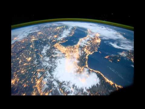 ISS timelapse Western Europe to the Middle East 2011 10 15